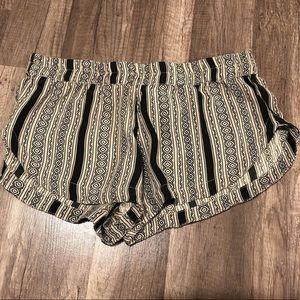 Acacia Silk Shorts In Poly
